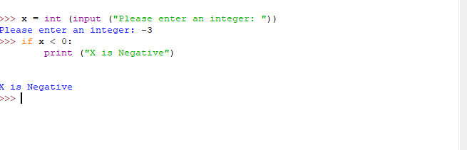 simple if statement example 2