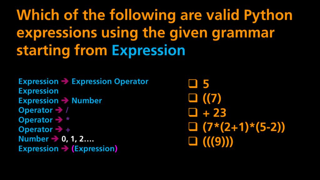 Python Programming - Grammar Quiz 2